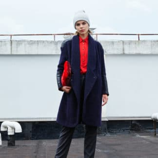 Manteau Panthere Navy Mohme