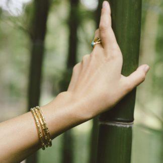 Jonc Bambou Simple Agathe Desbois Bijoux