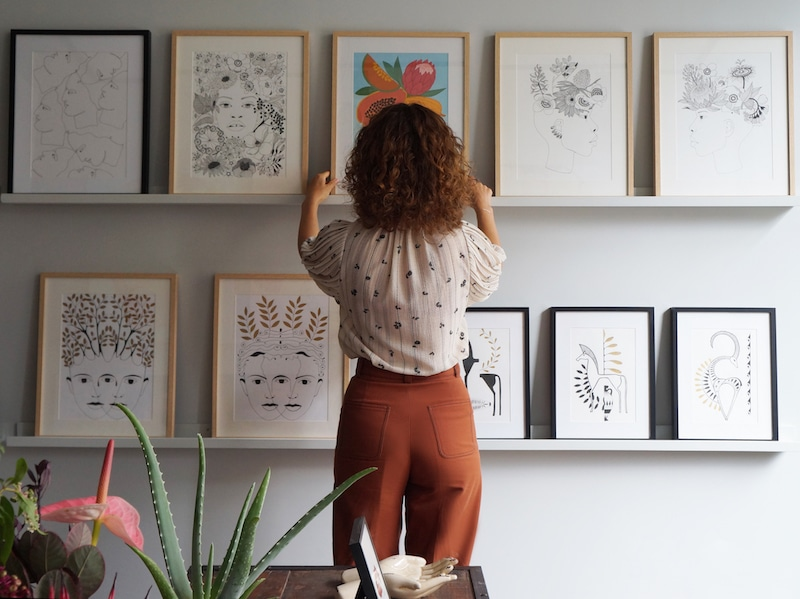 Celine Kadara Galerie Dada