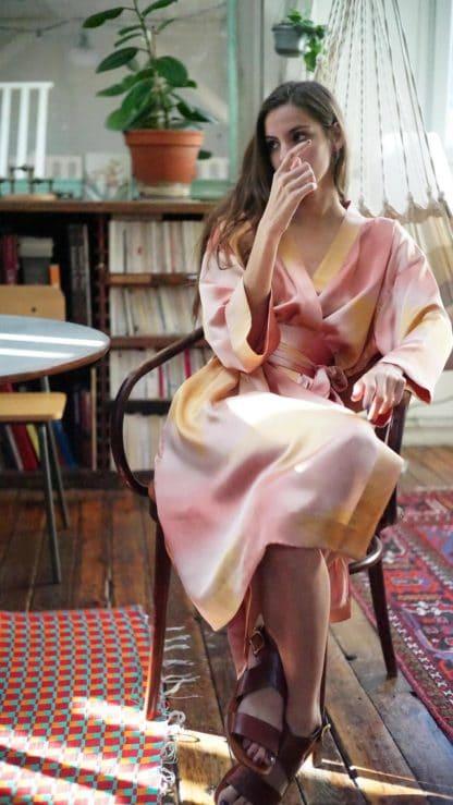 Escrin robe niki rose
