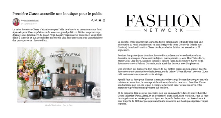 FASHION NETWORK SEPTEMBRE 2019