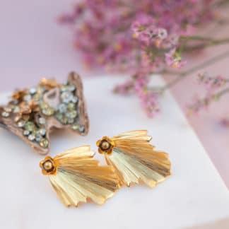Boucles d'oreilles Venus Marie Gold Bijoux Face to Face