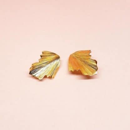 Boucles d'oreilles à clip Fever Marie Gold Bijoux Créateurs