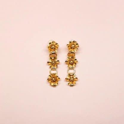 Boucles d'oreilles à clip Heaven Marie Gold Bijoux