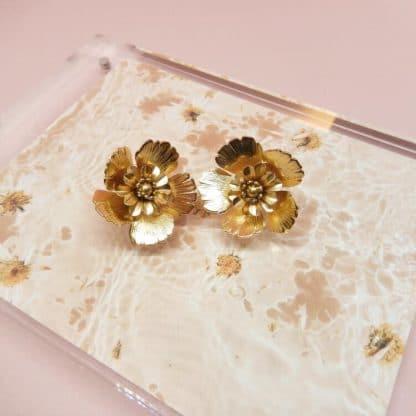 Boucles d'oreilles Joy Marie Gold Bijoux Face to Face
