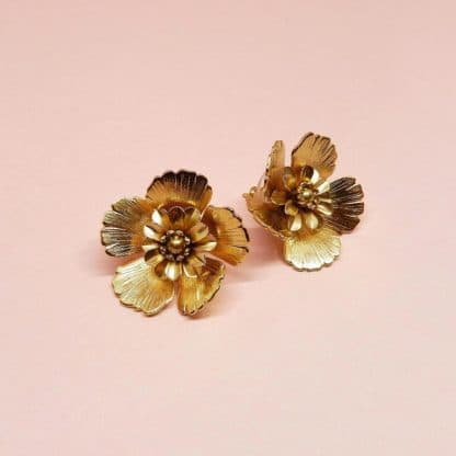 Boucles d'oreilles Joy Marie Gold Bijoux Face to Face