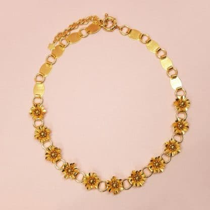 Collier Queen Marie Gold Bijoux Boutique de Créateurs