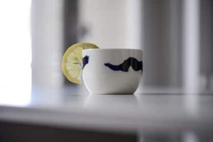 Bol à thé Calligraphie Atelier Zû Art de Vivre