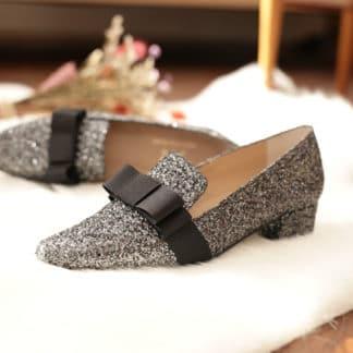 Mocassin Escarpin à paillettes Clara Eclipse MZ Made for Petite Chaussures