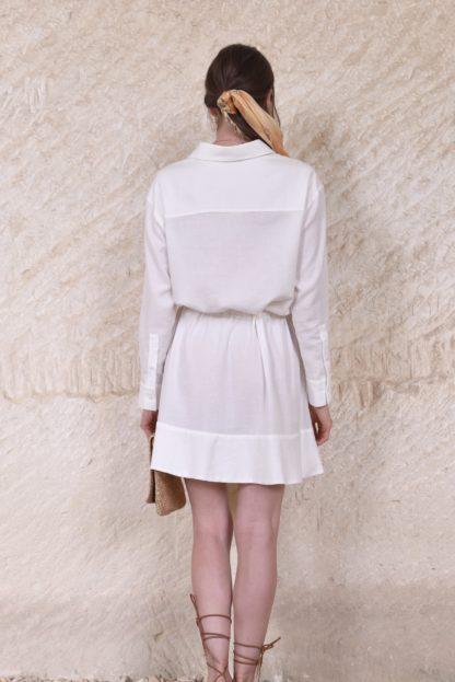 Robe chemise Tokyo écrue | Labl01 | Mode | Shop |Face to Face |