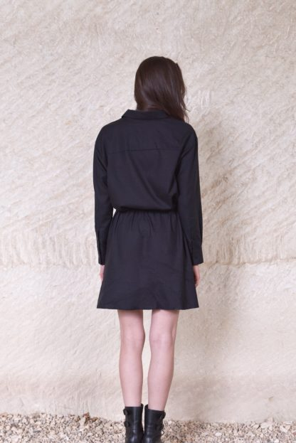 Robe chemise Tokyo Noire | Labl01 | Mode |Shop | Face to Face |