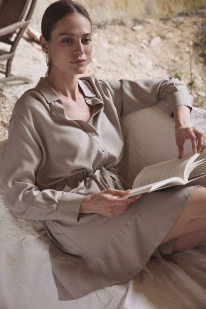 Robe chemise Tokyo Sable | Labl01 | Mode
