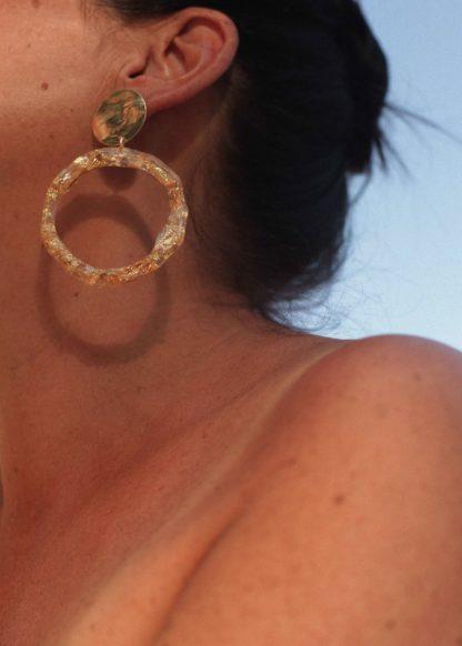 Boucles d'oreilles Mira Or Anna Shelley Bijoux