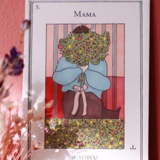 Cadre porte-bonheur Maman