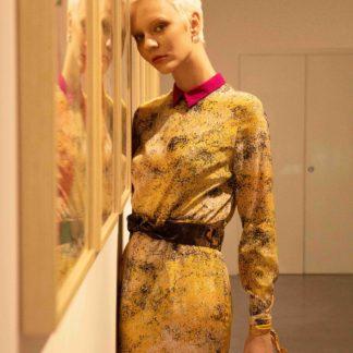 Robe Pépite en soie-Mohme Paris-Mode-Face To Face