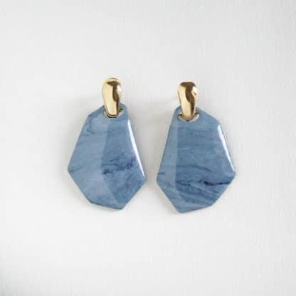 Boucles d'oreilles Blue Sky-Brüme Lydie Smith-Bijoux-Face To Face