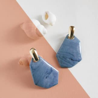 Boucles d'oreilles Blue Sky-Brüme Lydie Smith-Bijoux-Face To Face