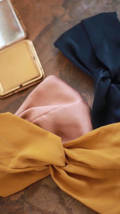 Bandeau Audrey Uni | Escrin Paris-Accessoires-Face To Face