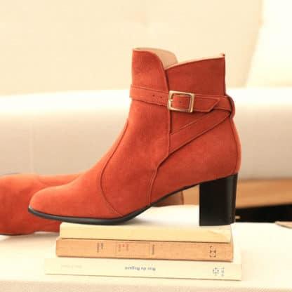 Bottines Khara Mattone-Emz-Chaussures-Face To Face