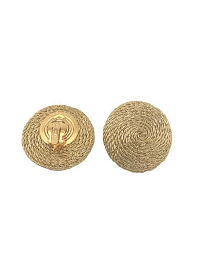 Boucles d'oreilles Ava gold-Philos'sophia-Bijoux-Face To Face