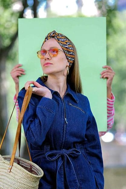 Turban Chariot-Paloma Germain-Mode-Face To Face