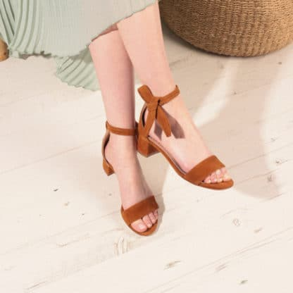 Sandales Dori Camel-Emzi-Chaussures-Face To Face