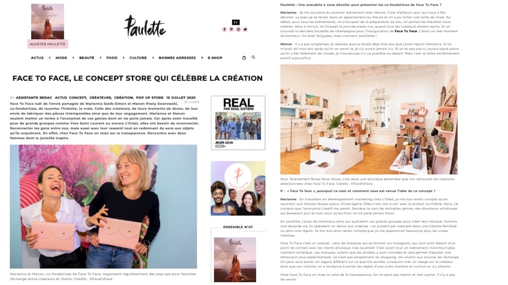 Interview Marianna Szeib Manon Posty Sworowski Paulette Magazine