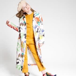 Trench-coat Jardin des fleurs |Jeanne & Louise |Mode Enfant