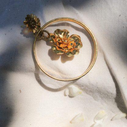 Créoles Frida   Marie Gold   Bijoux   Shop   Face to Face  