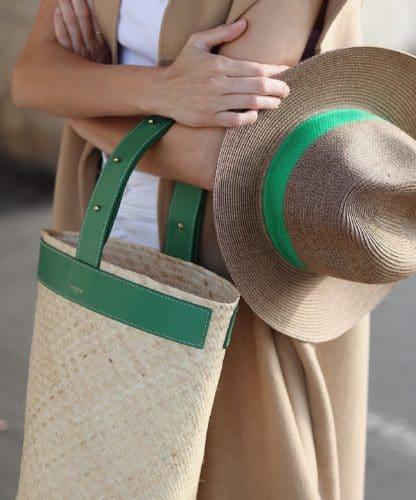 Chapeau Portofino Vert | Lastelier | Accessoires | Shop Face to Face