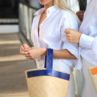 Sac Bornéo Bleu   Lastelier   Maroquinerie   Shop Face to Face