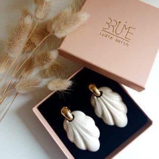 Boucles d'oreilles Pamela | Brüme Lydie Smith | Bijoux Créateur