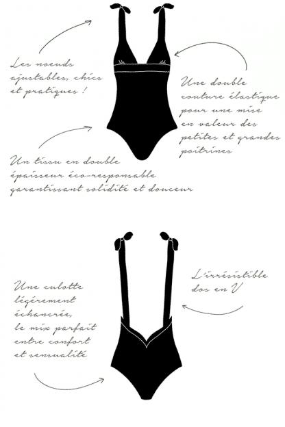 Maillot de bain une pièce Leonor Noir   Joaquine   Mode_Maillots_de_bain_eco-responsables_leonor_joaquine