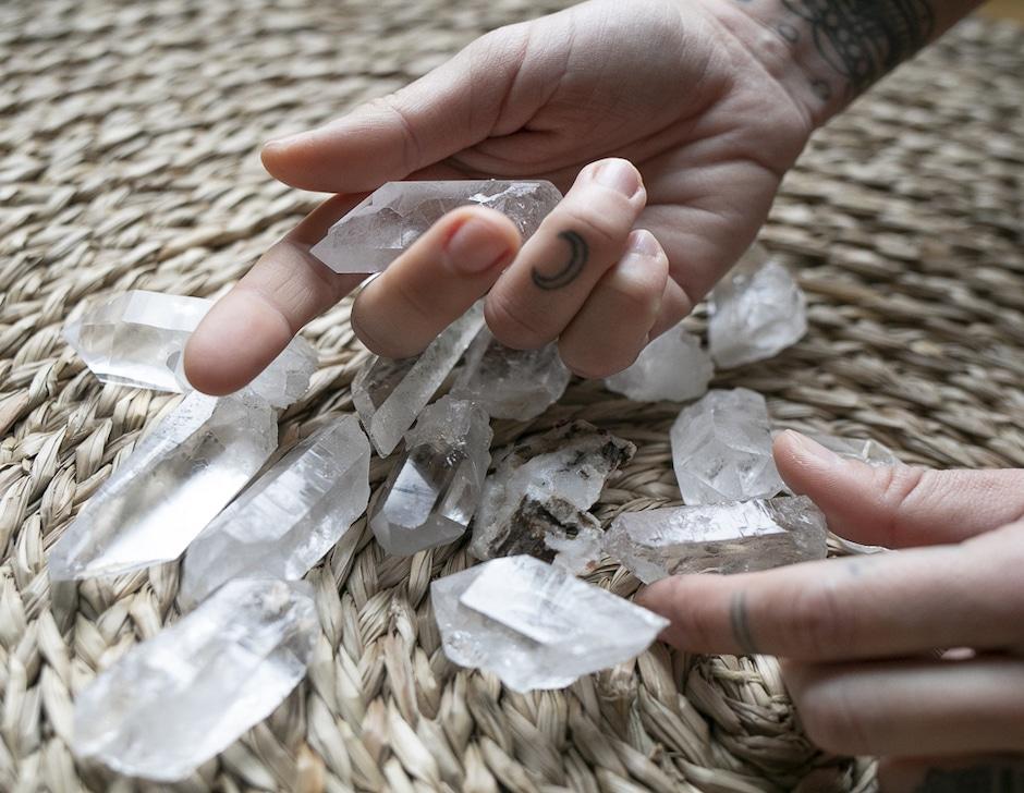 Stones Club Morgane Jorge kit Lithothérapie Bien-être