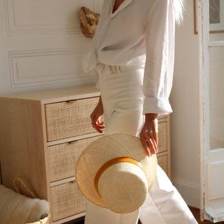 chapeau-riviera-orange-lastelier-mode-chapeaux-facetofaceparis